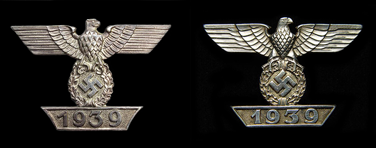 1939 Clasp to the 1914 Iron Cross - 1st and 2nd pattern