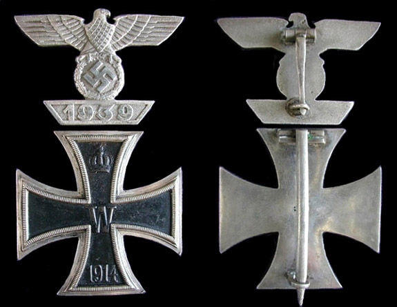 1939 Bar to the 1st class Iron Cross