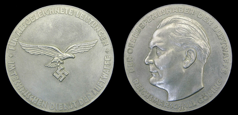 Hermann Göring medallion