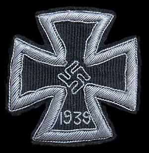 1st class Iron Cross in cloth