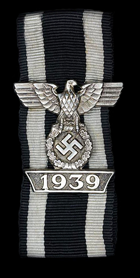 2nd class 1939 Clasp to the 1914 Iron Cross by CE Juncker